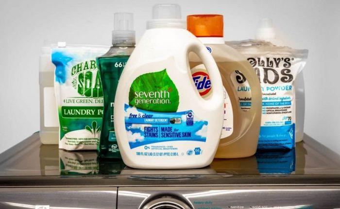 Tipos de detergentes para ropa