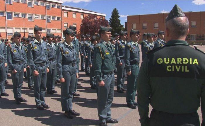 Tipos de guardia civil según especialidades