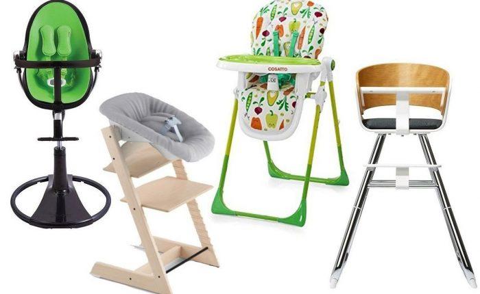 Tipos de tronas de bebé